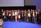 Eindrücke von der Preisverleihung zum Unternehmer des Jahres 2016