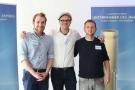 Robert Gardlowski, Lucas Thiem, zoneEINZ, und Jan Walochny, Gesundheitshaus Lebensfreude