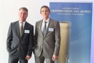 Dr. Thomas Drews und Steffen Hartung, Bürgschaftsbank Mecklenburg-Vorpommern GmbH