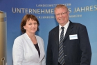 Michael Berkhahn, 1. Stellvertretender Bürgermeister der Hansestadt Wismar und Heike Bansemer, 2. Stellvertretende Bürgermeisterin