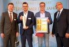 "Preisträger 2019 - Maximilian Block, Jacob Saß, advocado GmbH aus Greifswald (Sonderpreis 2019: ""Digital regional verwurzelt"")"