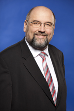 Portrait des Ministers für Wirtschaft, Bau und Tourismus Harry Glawe