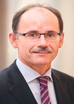 Dr. Wolfgang Blank, Präsident der IHK Neubrandenburg für das östliche Mecklenburg-Vorpommern, geschäftsführende Kammer der IHKs in MV