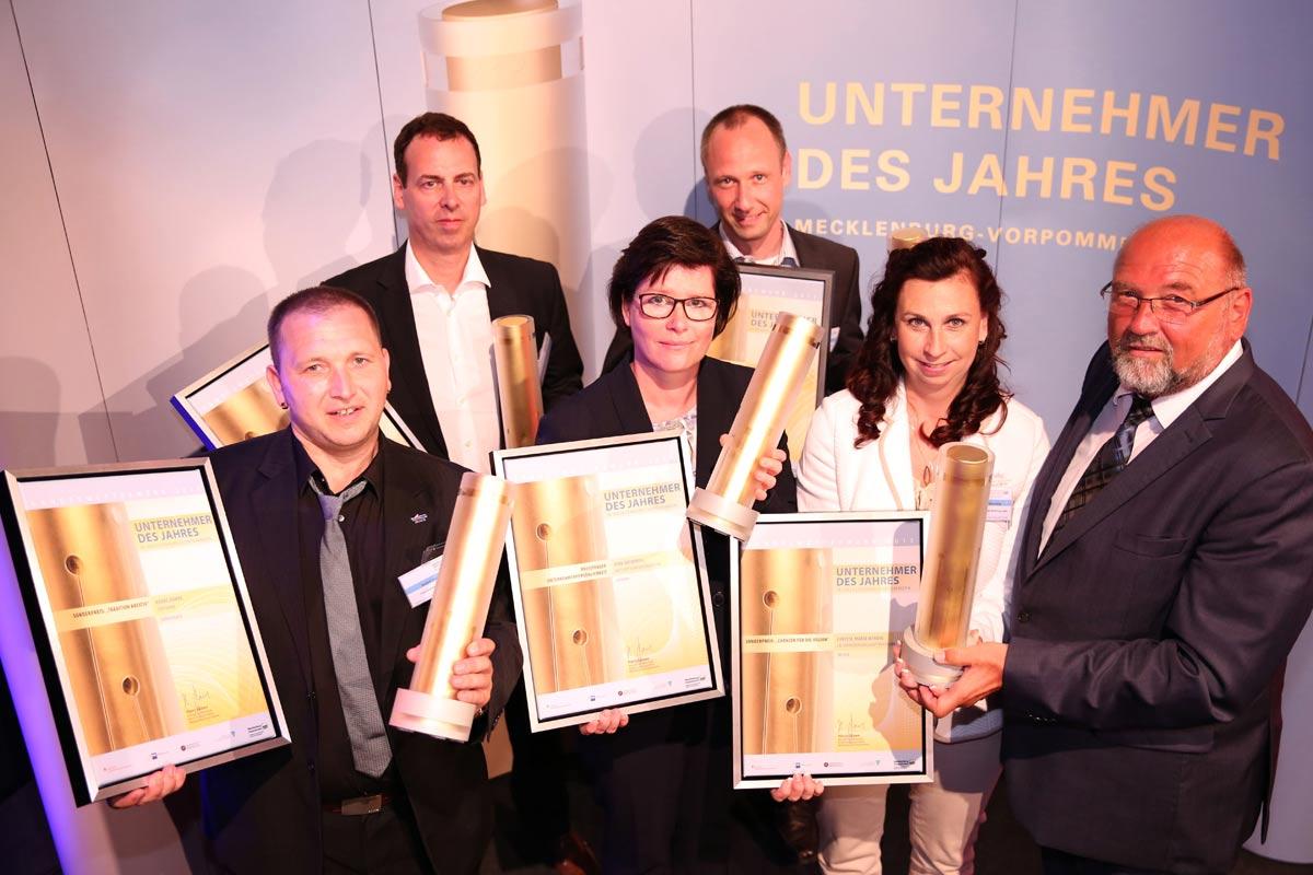 Preisträger Unternehmer des Jahres 2017