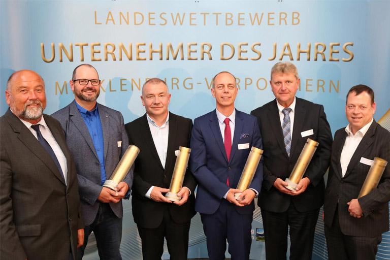 Preisträger Unternehmer des Jahres 2018